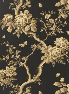Tapete Ashfield Floral von Ralph Lauren