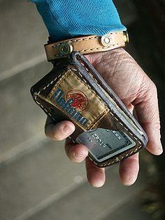 Custom Nokona Wallet Built From Old Baseball Gloves-Vvego…