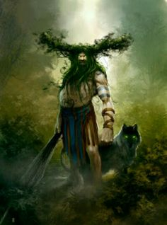 The Leshy is a male woodland spirit in Slavic mythology believed to protect wild animals and the forests. They usually appear as tall men, but have the ability to change size and shapeshift into any form, animal or plant. Leshies have beards made of living grass and vines, and are often depicted with a tail, hooves, and horns. The Leshy has pale white skin and dark green eyes. They are the lords of the forest and hold close bonds with gray wolves, bears, and all animal life. When a leshy is…