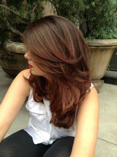 Attention all brunettes, tone on tone hair color is a major trend this fall. Reinvent your ombré hair color with a rich copper brown shade that will make your complexion glow and your hair …