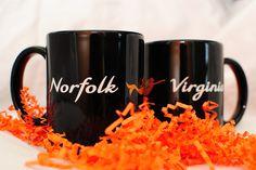 Visitor Norfolk Coffee Mugs