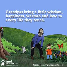 #grandpa   and he touched you both and your Dad too and he loved you all the best he could at hthe time.........