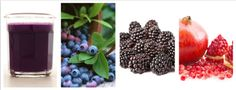 Day1 Juicing  2 pints blueberries 2 pints blackberries Seeds of 3 pomegranates #cleanse #juice