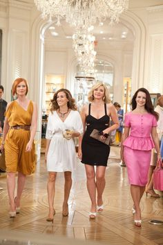 The girls of Sex and the City