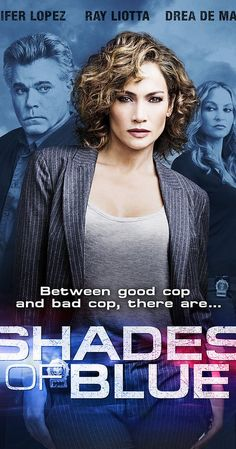 NBC's set a January 2016 premiere date for the dramatic series Shades of Blue starring Jennifer Lopez, Ray Liotta, Warren Kole, Drea de Matteo, and Dayo Okeniyi. Ray Liotta, Newest Tv Shows, Great Tv Shows, New Shows, Favorite Tv Shows, Jennifer Lopez, Blue Tv Show, Detective, Tv Series 2016