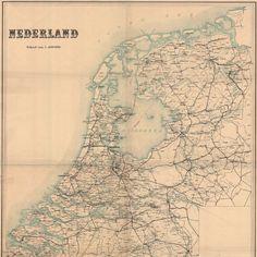 Tijdreis over 200 jaar topografie