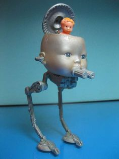 Deformed Sci-Fi Dolls  Stacey Rader Makes Her Own Nightmarish Toys Using Recycled Parts