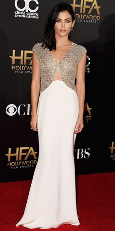 Starry Extravaganza! 2014 Hollywood Film Awards Red Carpet Fashion - Jenna Dewan-Tatum from #InStyle