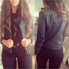 Leather Jacket<3