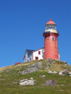 Ferryland Lighthouse, Ferryland, Newfoundland Built in 1871.