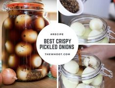 How To Make Crispy Pickled Onions