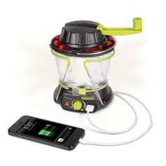 The Smartphone Charging Emergency Lantern - Hammacher Schlemmer