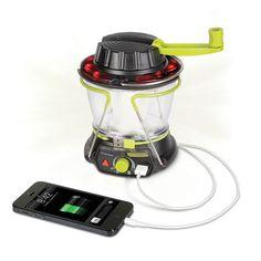 The Smartphone Charging Emergency Lantern - Hammacher Schlemmer