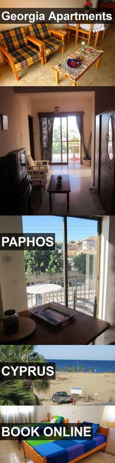 Georgia Apartments in Paphos, Cyprus. For more information, photos, reviews and best prices please follow the link. #Cyprus #Paphos #travel #vacation #apartment