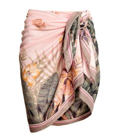 Check this out! Sarong in airy woven fabric with a printed pattern. Size 51 1/4 x 59 in. - Visit hm.com to see more.