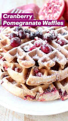 Breakfast Waffle Recipes, Breakfast Toast, Sweet Breakfast, Breakfast Ideas, Easy Waffle Recipe, Waffle Maker Recipes, Vegetarian Recipes, Cooking Recipes, Frozen Meals