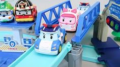 Tayo The Little Bus Learn Colors Thomas and Friends Mega Bloks Train Toy Surprise - YouTube