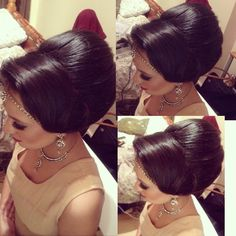 Hair up do on my lovely client Makeup by the amazing @summayamua  Jewellery by @shopbees  #hair #hairup #hairupdo #hairstyle #hairstylist #sairarahmanhair #instahair #instahub #instahappy #instahairstyle #eleganthair #asianhair #asianbridal #weddingday #wedding #weddinghair #bridalhair #partyhair #asianbridalhair #bighair #volume