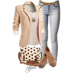 Stylish Eve Outfits 2013: How to Look Great and Professional on the Job / i wld change the shoes