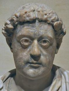 Alleged portrait of Julius Nepos, penultimate emperor of Western Roman Empire (474-475 CE). Fled in Dalmatia after his removal, he considered himself the sole legitimate western emperor till his death, in 480.