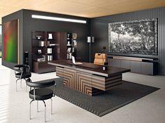 Moderne büroeinrichtung  Jera Moderne Schreibtische von Las Mobili | Ideen | Pinterest ...