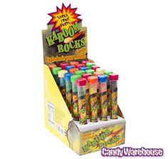 Kaboom Rocks Candy Test Tubes: 24-Piece Box