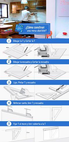 Las barras de cortina de ba o se desgastan con el uso y - Como hacer una mesa abatible ...