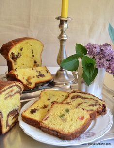 Cozonac pufos reteta simpla cu rahat si nuca - cozonaci traditionali | Savori Urbane Romanian Desserts, Cacao Beans, Pastry And Bakery, Loaf Cake, Home Food, Sweets Recipes, Carne, French Toast, Food And Drink
