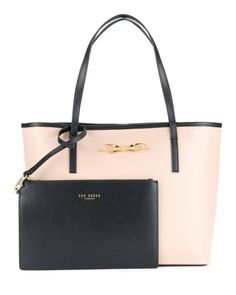 Crosshatch shopper - Taupe | Bags | Ted Baker