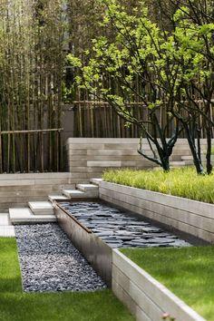 contemporary garden design how to design your garden Rock Garden Design, Contemporary Garden Design, Garden Design Plans, Modern Landscape Design, Landscape Architecture Design, Green Architecture, Small Garden Design, Modern Landscaping, Backyard Landscaping