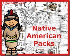 Native American Packs Toddler through 3rd Grade - Royal Baloo