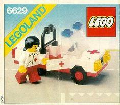 Rescue - Medic Car [Lego 6629] 80s
