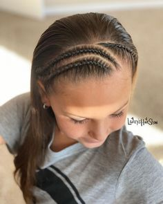Braid Designs, Hair Shows, Half Up Half Down, Girl Hairstyles, Cool Stuff, Hair Styles, French Braids, Style Ideas, Instagram