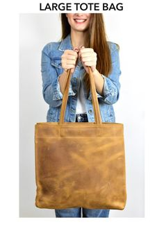 Premium Leather Tote bag, brown Leather Bag, School Bag, Travel Tote bag, Shopper Bag, Rustic, Leather grain bag, Waxed colors Suede Tote Bag, Tote Bags, Leather Bag, Brown Leather, Travel Tote, Shopper Bag, School Bags, Rustic, Colors