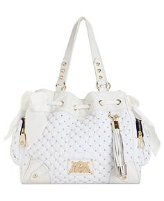 Juicy Couture Handbag, Upscale Quilted Nylon Daydreamer Bag - Juicy Couture - Handbags & Accessories - Macy's