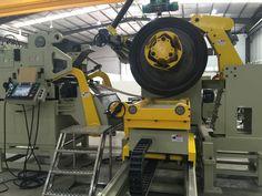 Metal Coil Strip Feeder Machine & leveler decoiler caroline@he-machine.com #precisionmetalproducts #sheetmetalproducts #sheetmetalworkers #sheetmetalfabrication #sheetmetal #precisionstamping #automotiveparts