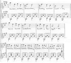 ember ember debember Sheet Music, Winter