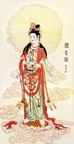 GuanYin - the goddess of Mercy, and other famous tea myths
