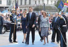 La complicidad de los Reyes en los últimos premios Príncipe de Asturias #realeza #royalty