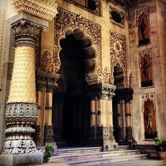 Laxmi Vilas Palace ancient architecture, india, baroda, Gujarat♥♥♥ – Famous Last Words India Architecture, Gothic Architecture, Classical Architecture, Ancient Architecture, Beautiful Architecture, Beautiful Buildings, Architecture Design, Beautiful Places, Famous Architecture