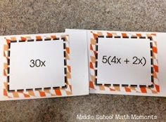 Partnering Cards Using Equivalent Expressions by Middle School Math Moments Equivalent Expressions, Math Expressions, Algebraic Expressions, Sixth Grade Math, Eighth Grade, Combining Like Terms, Fun Math Activities, Math Games, Eureka Math