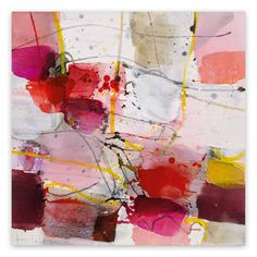 For Sale on - La vie en rose, Canvas, Acrylic Paint by Greet Helsen. Mixed Media Painting, Mixed Media Canvas, Painting Frames, Abstract Paintings, Abstract Art, Texture Images, Acrylic Canvas, Abstract Landscape, Abstract Expressionism