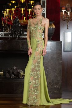 Toufic Hatab Spring and Summer 2014 Haute Couture Collection - Arabia Weddings