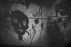 christian boltanski shadows Childhood Fears, Shadow Theatre, Light Installation, Art Lessons, Christian, Fine Art, Sculpture, Puppets, Witches