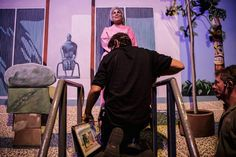 Behind the Scenes of the Pageant that Turns People into Living Art