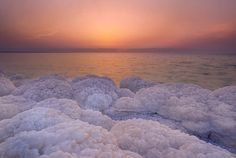 The Dead Sea, Jordan and Israel