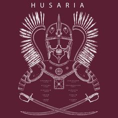 Polish Winged Hussar T-shirt Design by RobbieMcSweeney on DeviantArt Polish Symbols, Slavic Tattoo, Historical Tattoos, Polish Tattoos, Maori Tribe, Weaving Machine, History Tattoos, In Ancient Times, Drawings