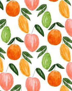 Citrus Medley  ~Kendra Dandy (Bouffants & Broken Hearts)