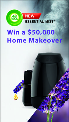 Enter for your chance to win a $50,000 Home Makeover