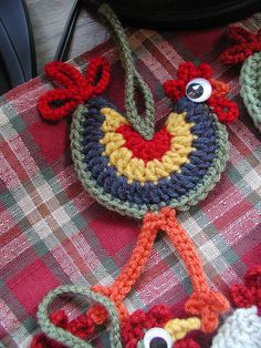 CROCHET GALO :) .......Long Legged Rooster by Buckster's Pics, via Flickr